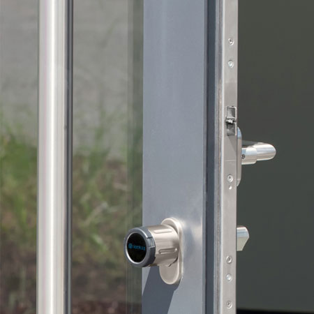 Elektronische Türschloss elektronisches türschloss für außentüren lockzz